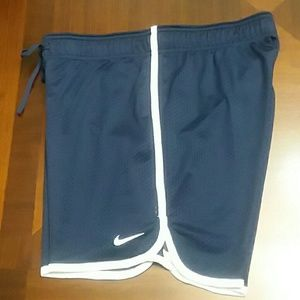 Ladies Blue Nike Shorts Size XS